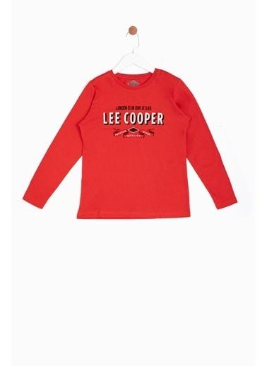 Lee Cooper Sweatshirt Kırmızı